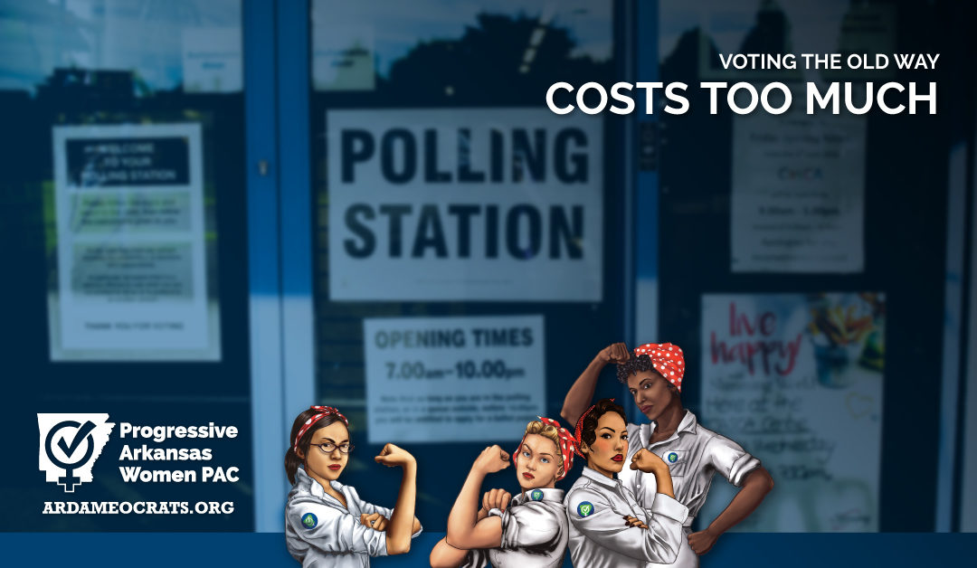 Voting the Old Way Costs Too Much Money