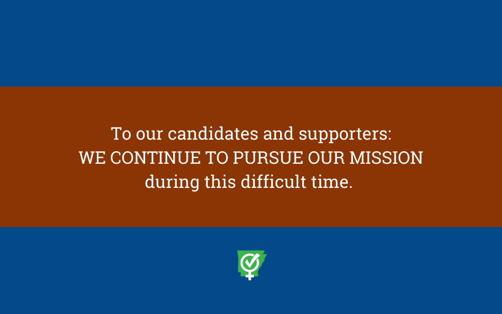 Message from PAWPAC's Founders to Our Candidates & Supporters
